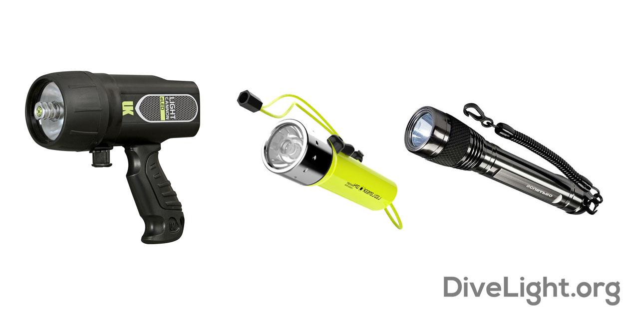 Best Photography Cave Dive Lights
