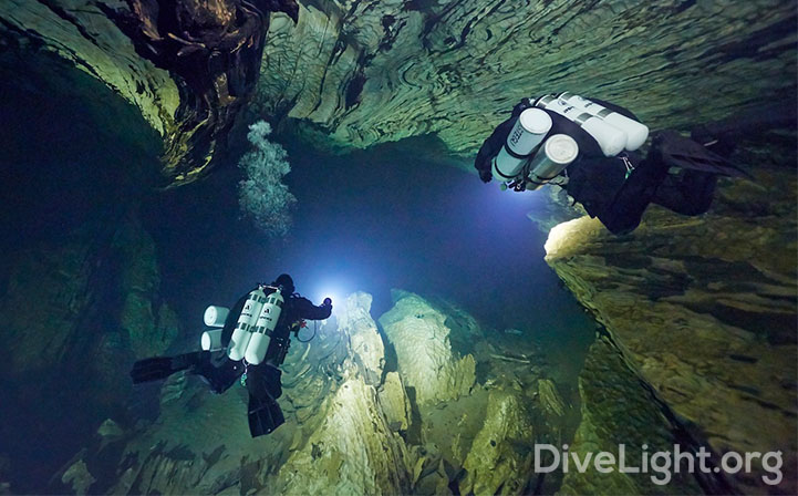 Cave Dive Light Overview