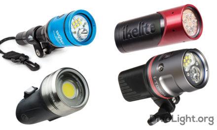 Dive Lights for GoPro Cameras