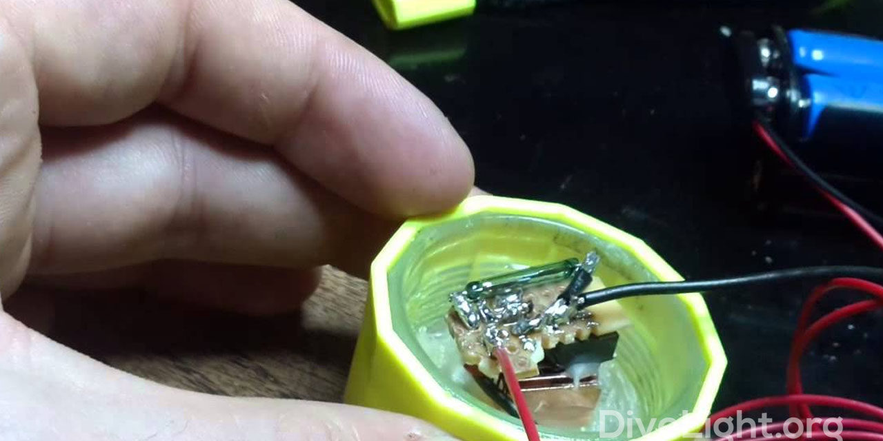 Reed Switch Dive Lights