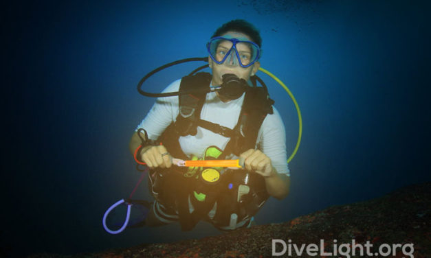 The Two Types of Dive Glow Sticks You Should Know About