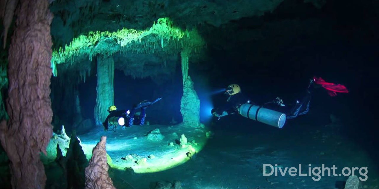 Tight Beam Cave Dive Lights