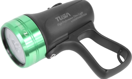 Review: Tusa TUL-600 LED Dive Light