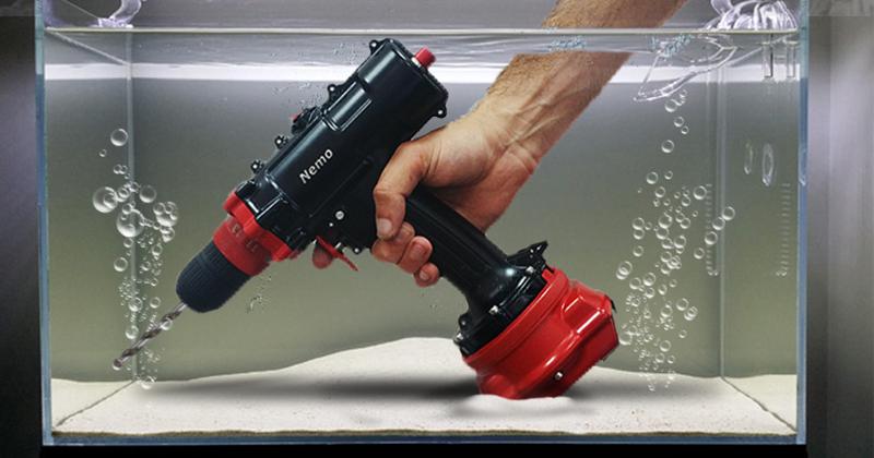 Nemo Power Tools World S First Underwater Cordless Power